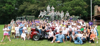 OPC Campers, Military Personnel and the Iron Horse Helpers